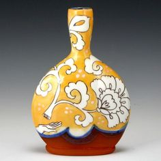 Bottles and flasks from invitational. Painted Pots, Earthenware, Barware, Pottery, Flasks, Red, Bottles, Instagram, Decor