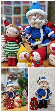 Necessary no knitting piece of tan pcs white pair of 12 mm amigurumi Crochet Christmas Decorations, Christmas Crochet Patterns, Holiday Crochet, Christmas Knitting, Crochet Dinosaur, Handmade Soft Toys, Crochet Amigurumi Free Patterns, Granny Square Crochet Pattern, Doll Tutorial
