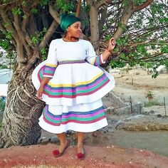 Sepedi Traditional Dresses, African Traditional Wear, Fashion 101, Weeding, Summer Dresses, How To Wear, Ideas, Grass, Weed Control