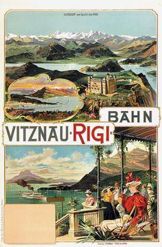 1899 Vitznau Rigi Bahn