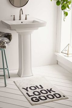 Urban Outfitters Home & Living – ShopStyle – Bathroom Rugs Bath Mats Home Fashion, Home Renovation, Best Bath, Bathroom Rugs, Bathroom Carpet, Elephant Bathroom Decor, Zen Bathroom, Family Bathroom, Washroom