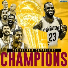 Cleveland Cavaliers Champions