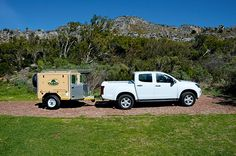 Tow test Outdoor Life Magazine, Caravan Reviews, It's Windy, Beautiful Day