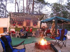 decorating a pop up camper rvnet open roads forum family camping - Camper Christmas Decorations