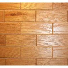 Wooden Wall Tile rustix woodbrix 3 in. x 8 in. reclaimed barn board wooden wall