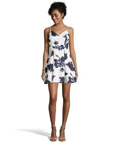8801e6e6865 Romeo   Juliet Couture Floral Print Woven Dress With Open Back at ...