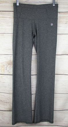 1d3a5f6037167 VOGO Athletica womens S Small Leggings Gray Boot Yoga Pants 33