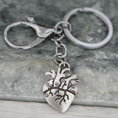 Show your love of biology with this keychain! Unique Key, Anatomical Heart, Key Chains, Fall 2018, Biology, Medicine, Canada, Australia, Science