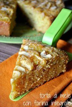 torta di mele integrale, ricetta senza uova