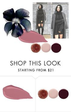 """Late November Colour Trend II"" by maggiemowbraymillinery ❤ liked on Polyvore featuring Nails Inc."