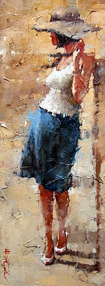 Andre Kohn About The Artist painting Woman Painting, Figure Painting, Figure Drawing, Painting & Drawing, Artist Painting, Art Moderne, Beautiful Paintings, Art Oil, Figurative Art