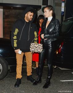 Pin for Later: Bella Hadid's Date-Night Style Is Crazy, Sexy, Cool