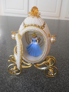 Beaded Cinderella Egg