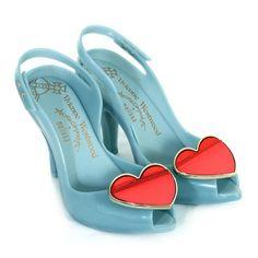 Melissa x Vivienne Westwood Lady Dragon VII Dove Red: Amazon.co.uk: Shoes & Accessories
