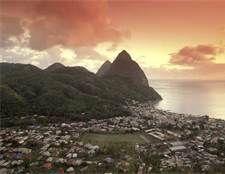 Soufrierre, St Lucia