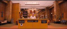 그랜드 부다페스트 호텔 (2014) / 영화 속 인테리어 : 네이버 블로그