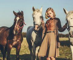 Oh, my Grace. Prague, Retro Fashion, Horses, Animals, Animales, Animaux, Animal, Animais, Horse
