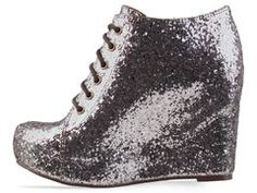 i DO rather love glittery shoes.