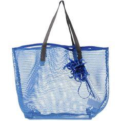 P.a.r.o.s.h. Handbag (300 BRL) ❤ liked on Polyvore featuring bags, handbags, blue, shopper purse, shopping bag, blue handbags, blue hand bag and blue purse