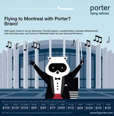 Porter Airlines - Great way to get to my Toronto Airport, Downtown Toronto, Porter Airlines, Web Design, Graphic Design, Consistency, Beautiful Landscapes, Airplanes, Montreal