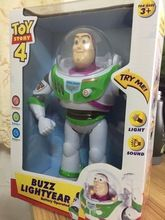 SALE US $22.99- New Toy Story  anime 10 inch Buzz Lightyear figure Toys Lights Voices Speak English Joint movable Action Figures Children Gift