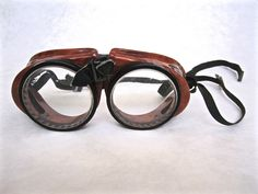 Vintage American Optical Goggles. ($12) Available at http://www.uncannyartist.com/products/american-optical-goggles.