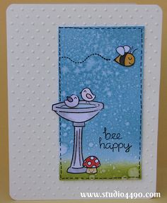 Fabulous card design by Kylie! Lawn Fawn - Gnome Sweet Gnome _ Bee Happy | Flickr - Photo Sharing!