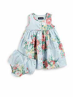 Ralph Lauren Infant's Mixed Floral Batiste Dress