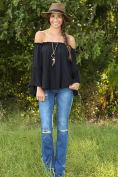 Where You Need To Be Bell Bottoms - New Today | The Red Dress Boutique