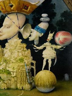 Janda Zdenek Illustration, Surreal Art, Beautiful, Om, Design, Paintings, Paint, Painting Art