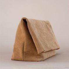 ACCESSORIES :: Rien, brown super market bag - Most Chic
