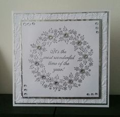Simple card using stamps from chloe's creative cards
