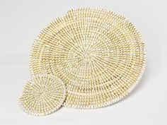 Handwoven Place Mats and Coasters