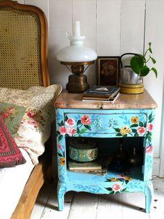 beau recyclage de vieux meuble
