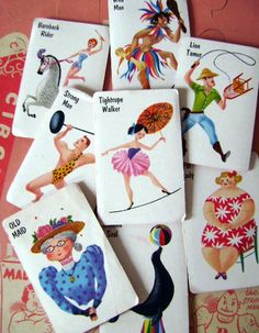Old Maid cards my cousins totally has these exact ones