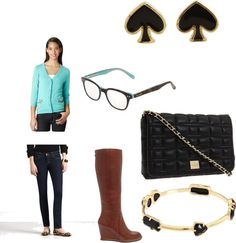 """""""Kate Spade outfit!"""" by morganhogue on Polyvore"""