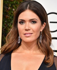 The Hottest Celebrity Brunette Hair Colors to Try Now - Mandy Moore from InStyle.com