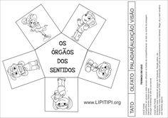 Lipitipi- Atividades e Projetos Fundamental I: Atividade Órgãos dos Sentidos…