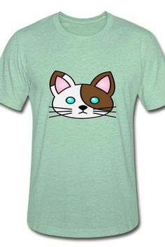 This wonderful cat Unisex Heather Prism T-Shirt is a symbol of cute, funny, cool, unique, and happiness to wear. Modern and handsome, this cat art is truly the perfect gift for any cat lover in your life.