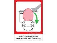 20 Besten Saubere Toilette Bilder Auf Pinterest Decals Guest