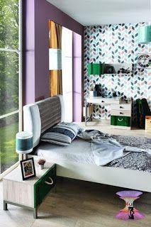 أحدث كتالوج صور ألوان غرف نوم أطفال و شباب 2021 Home Decor Home Furniture
