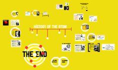 Atom History via Prezi