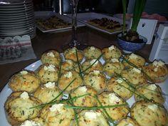 Mini Spinach & Feta Muffins