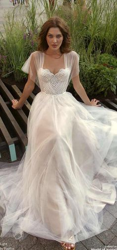 Light by Papilio 2019 Wedding Dresses - World of Bridal,Light by Papilio 2019 Wedding Dresses. - Light by Papilio 2019 Wedding Dresses – World of Bridal, # - Lace Wedding Dress, Gorgeous Wedding Dress, Wedding Dress Styles, Dream Wedding Dresses, Bridal Dresses, Dresses Dresses, Backless Wedding, Modest Wedding, Wedding Dress Not White
