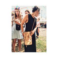 EBBA Bucket Bag von ElektroPulli aus Kupfer Leder