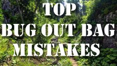 Top Bug Out Bag Mistakes  http://prepperhub.org/top-bug-out-bag-mistakes/