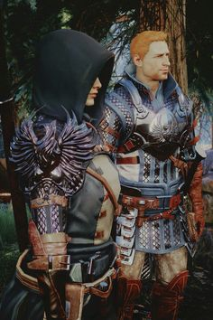 Alistair and The Warden...words cannot express how much I love this.