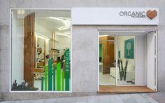 Organic hairdressers' by LIQE arquitectura, Vigo – Spain » Retail Design Blog
