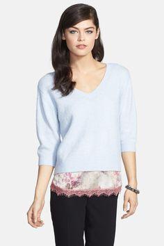 Chelsea28 V-Neck Ballet Sweater by Chelsea28 on @nordstrom_rack