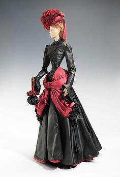 "The Metropolitan Museum of Art - ""1878 Doll"", House of Lanvin, 1949, French. This was a fashion doll given by France to America in thanks for American donations of relief packages after the end of WW2."